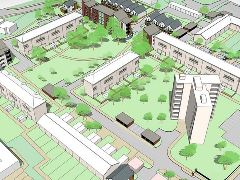 Reigate Housing Estate Master Planning