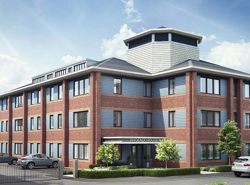 Phoenix House Architectural CGI