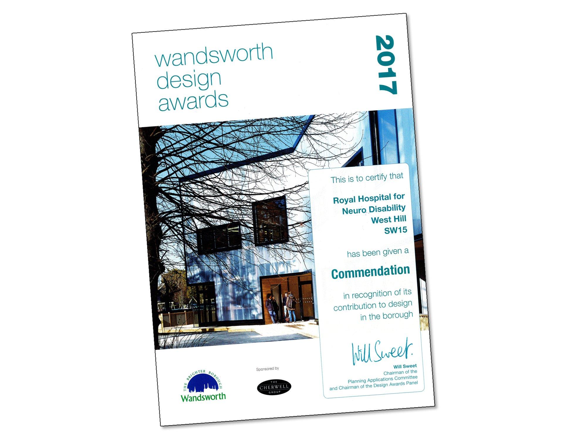 Wandsworth Design Awards 01