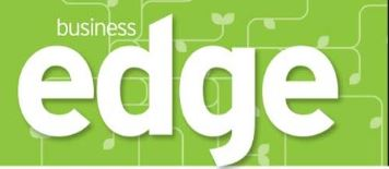 Banner head of Business Edge magazine
