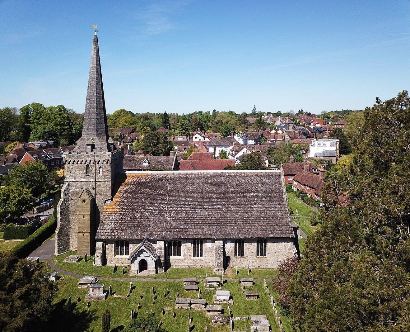 Cowan Architects-Holy Trinity Church-Cuckfield-External
