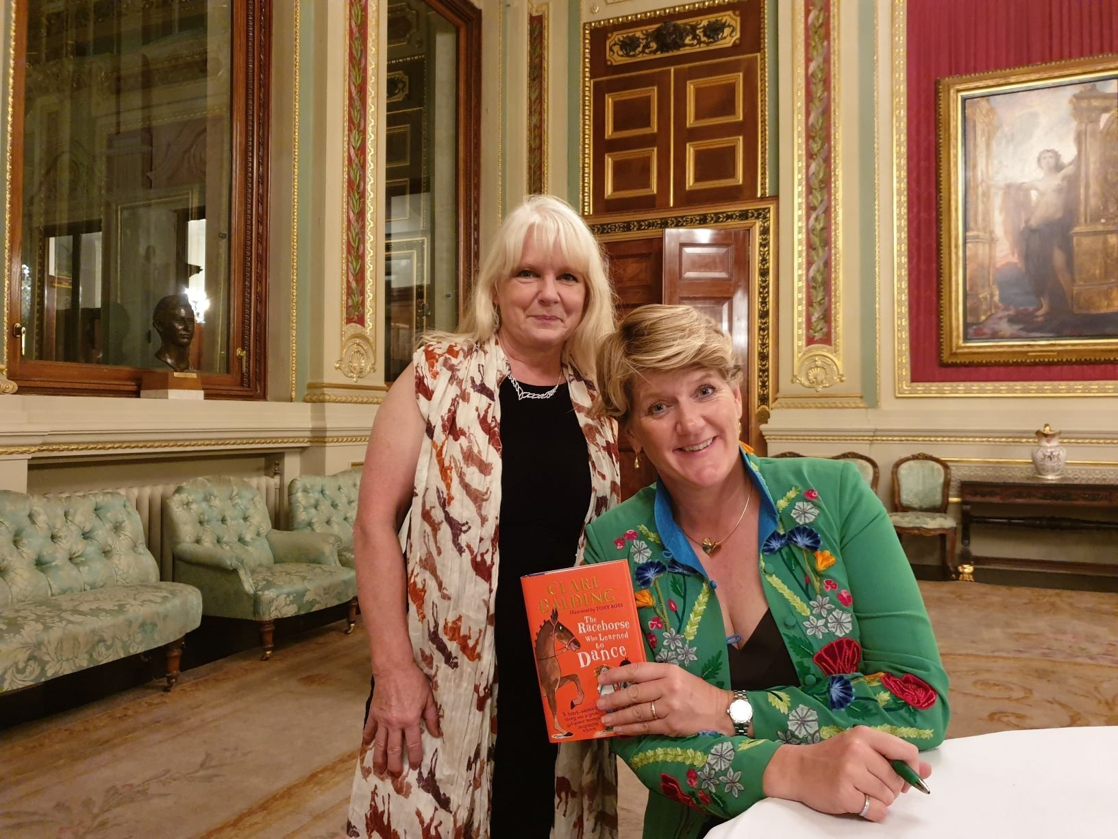 Clare Balding and Cowan Architects Julia Hockin