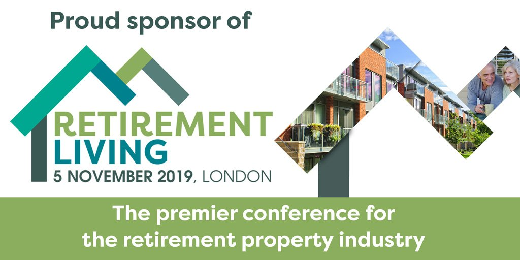 Logo Banner of Retirement Living Conference from Property Week