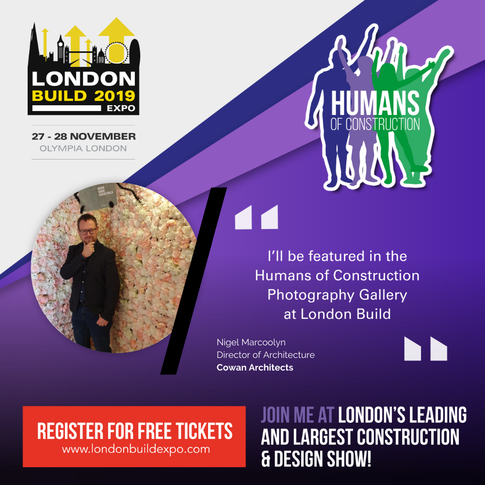 Image of Poster for Humans of Construction Exhibition